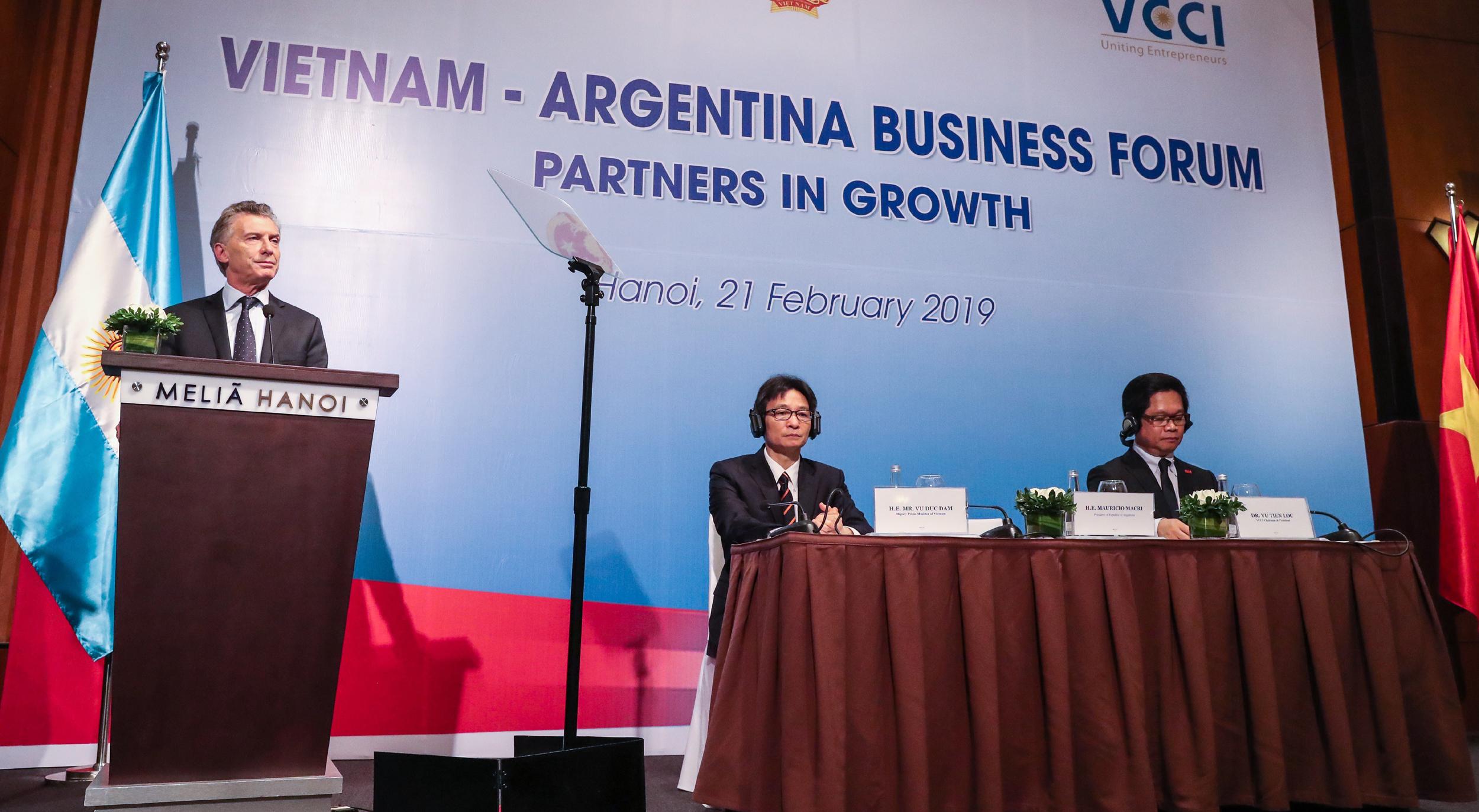 Macri: Asia es la región que más puede ayudarnos a crecer