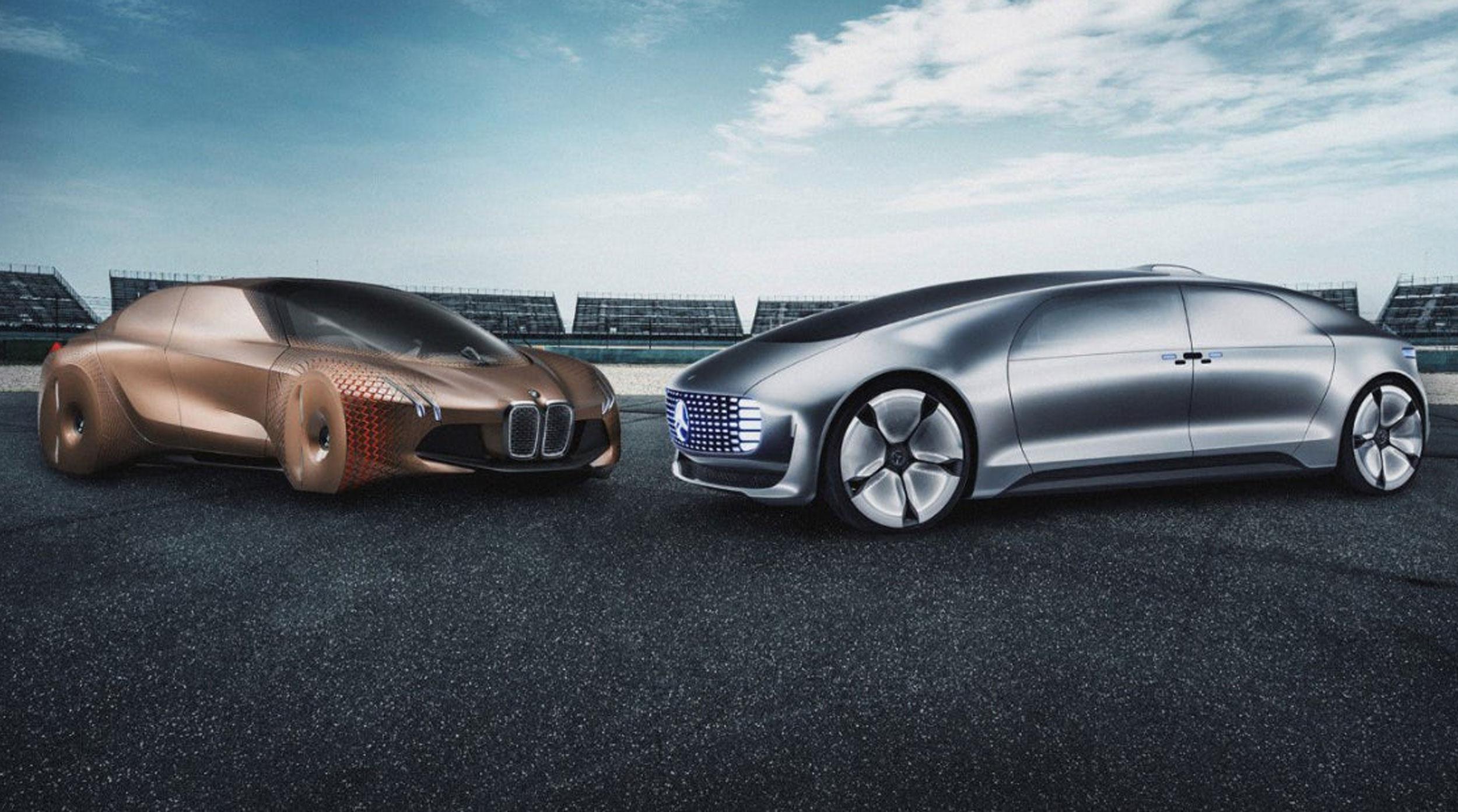 BMW y el fabricante de Mercedes Benz se unen para el desarrollo de conducción autónoma