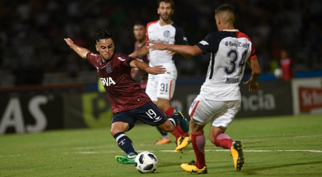 Con Rivas y Ortiz, el equipo que presentaría Talleres el domingo en  La Plata