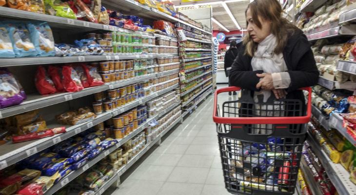 Los alimentos subieron 2,8 % en la primera quincena de febrero