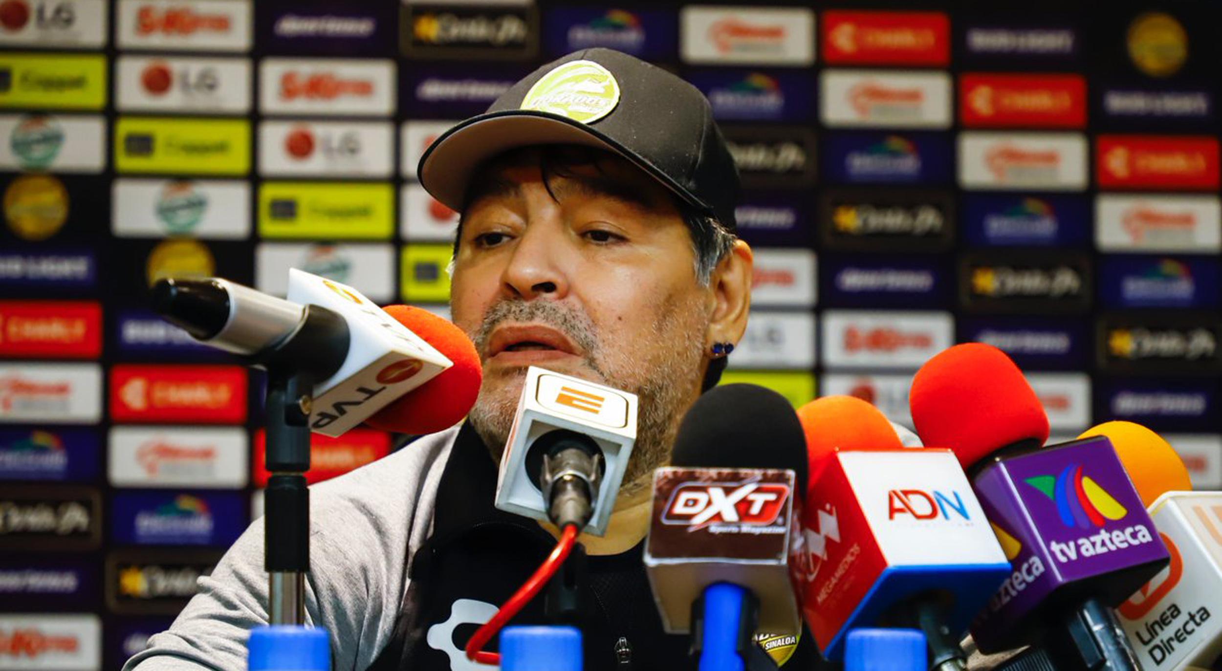 La inesperada comparación de Maradona entre Dorados y la selección