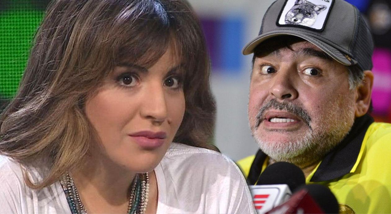 """""""Ridículo"""": la reacción de Gianinna Maradona tras un posteo de su padre en Instragram"""