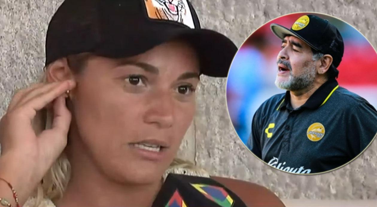 """Rocío Oliva volvió a disparar contra Diego Maradona: """"No le copa que la mujer sea…"""""""