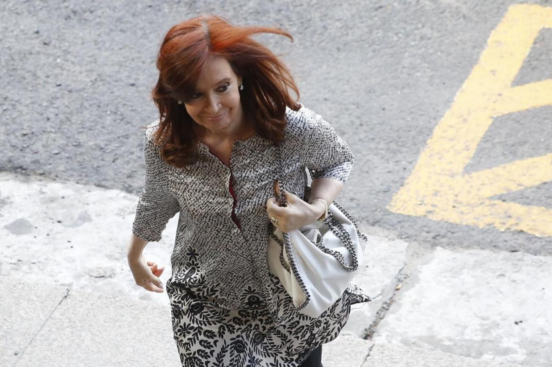 Cristina Kirchner está en el juzgado de Bonadio, donde presentará un escrito