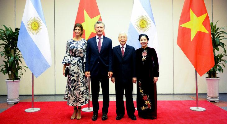 Macri regresa a la Argentina luego de su gira por Asia