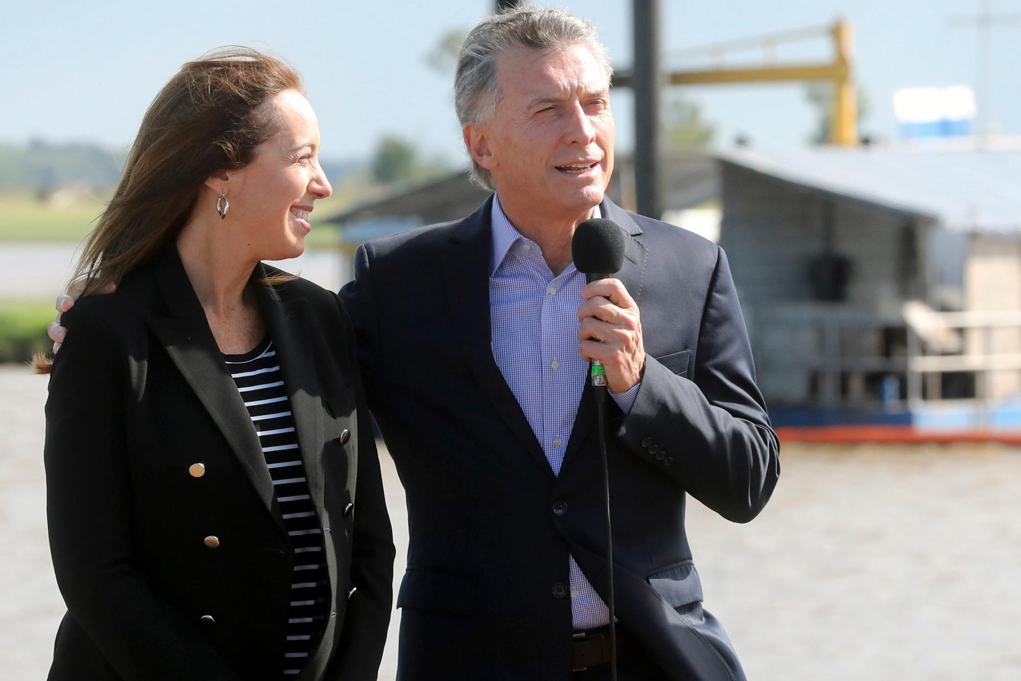 En su regreso, Macri se mostró con Vidal y puso el foco en la obra pública y la reactivación económica