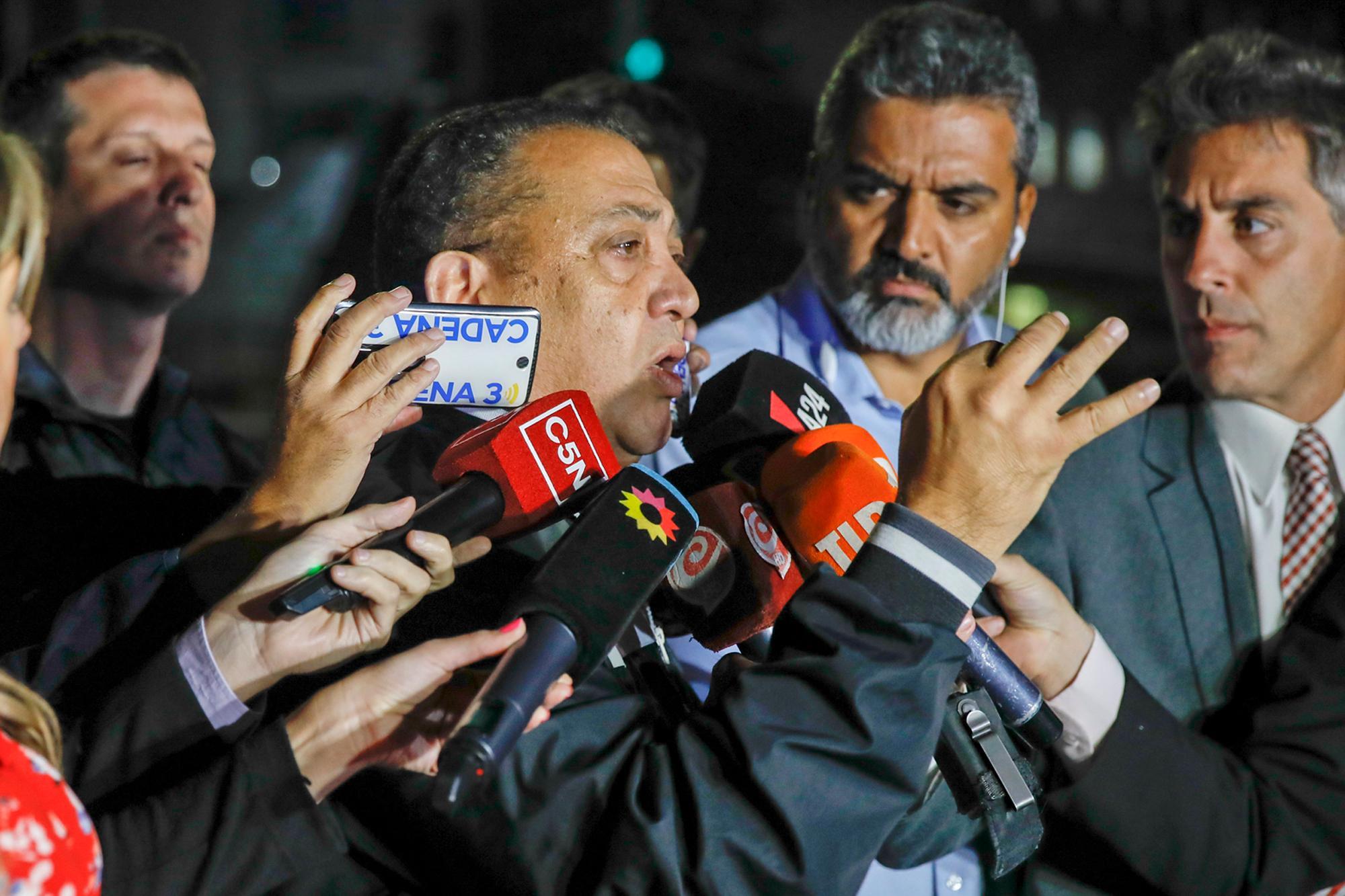 Quedó preso Luis D Elía, condenado por la toma de una comisaría