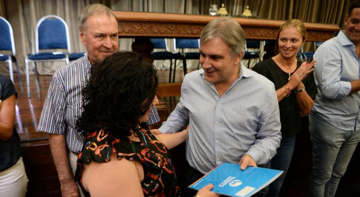 Según Ideco, Llaryora encabeza la intención de voto en la Capital