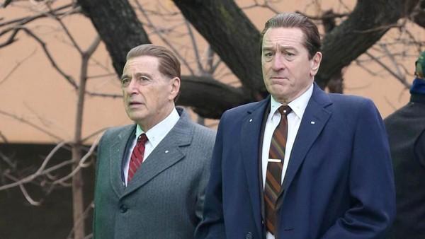 The Irishman: la nueva película de Netflix que reúne a Robert De Niro y Al Pacino