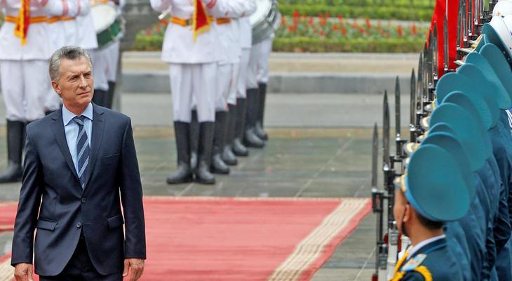 """Macri en Vietnam: """"Estoy listo para ir por la reelección"""""""