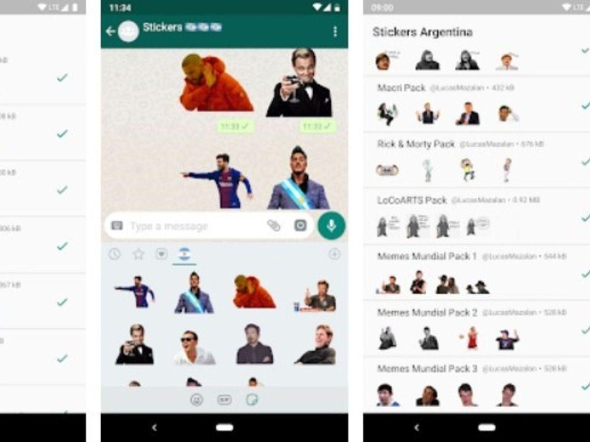Las 6 aplicaciones para crear y mandar tus propios stickers en WhatsApp