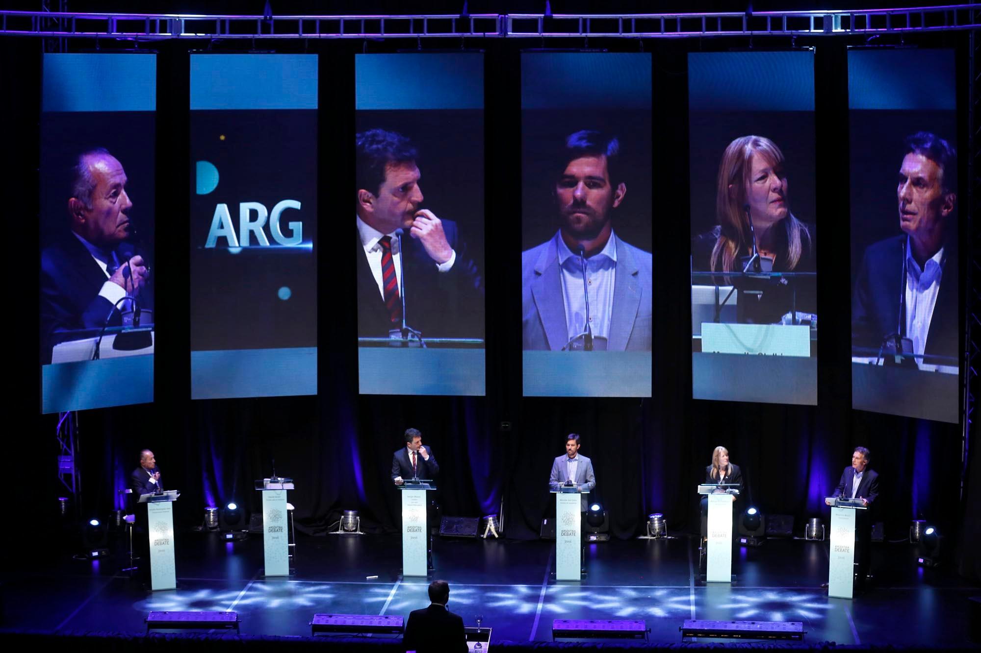 Elecciones: los debates presidenciales serán el 13 y el 20 de octubre