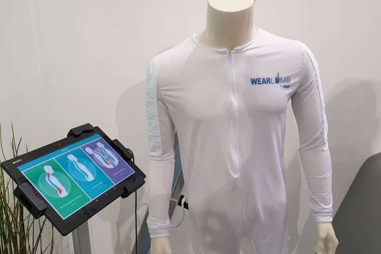 MWC 2019: Wearlumb es una camiseta inteligente que te ayuda a corregir la postura