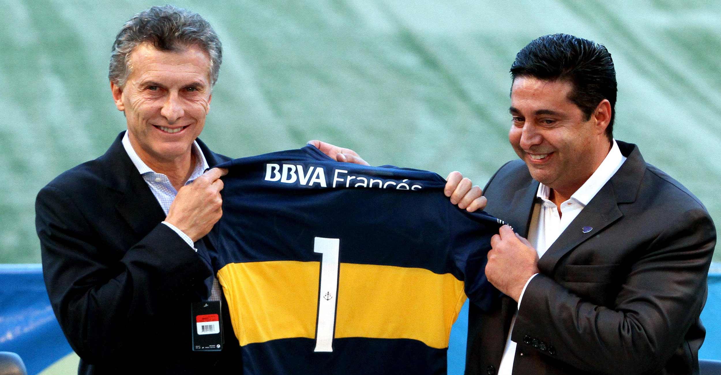 """Macri ante el debut de De Rossi: """"Estamos todos curiosos por ver lo que hace"""""""