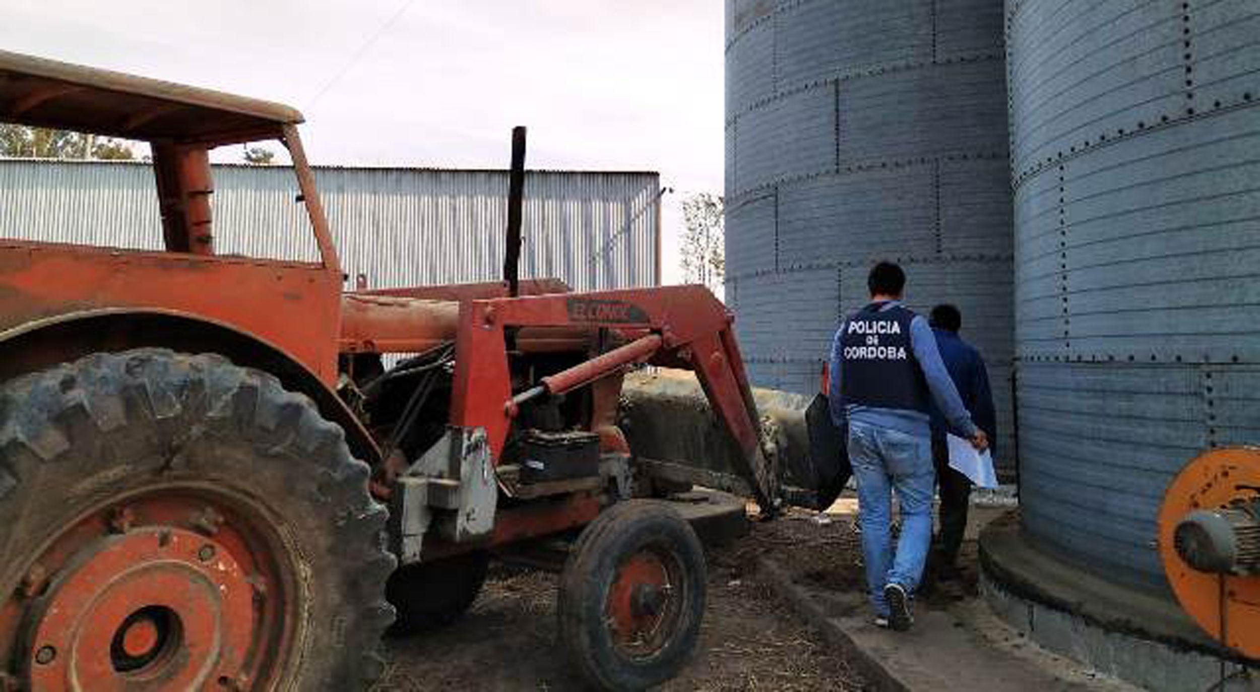 Recuperaron 50 toneladas de soja robadas de un campo de Ordóñez