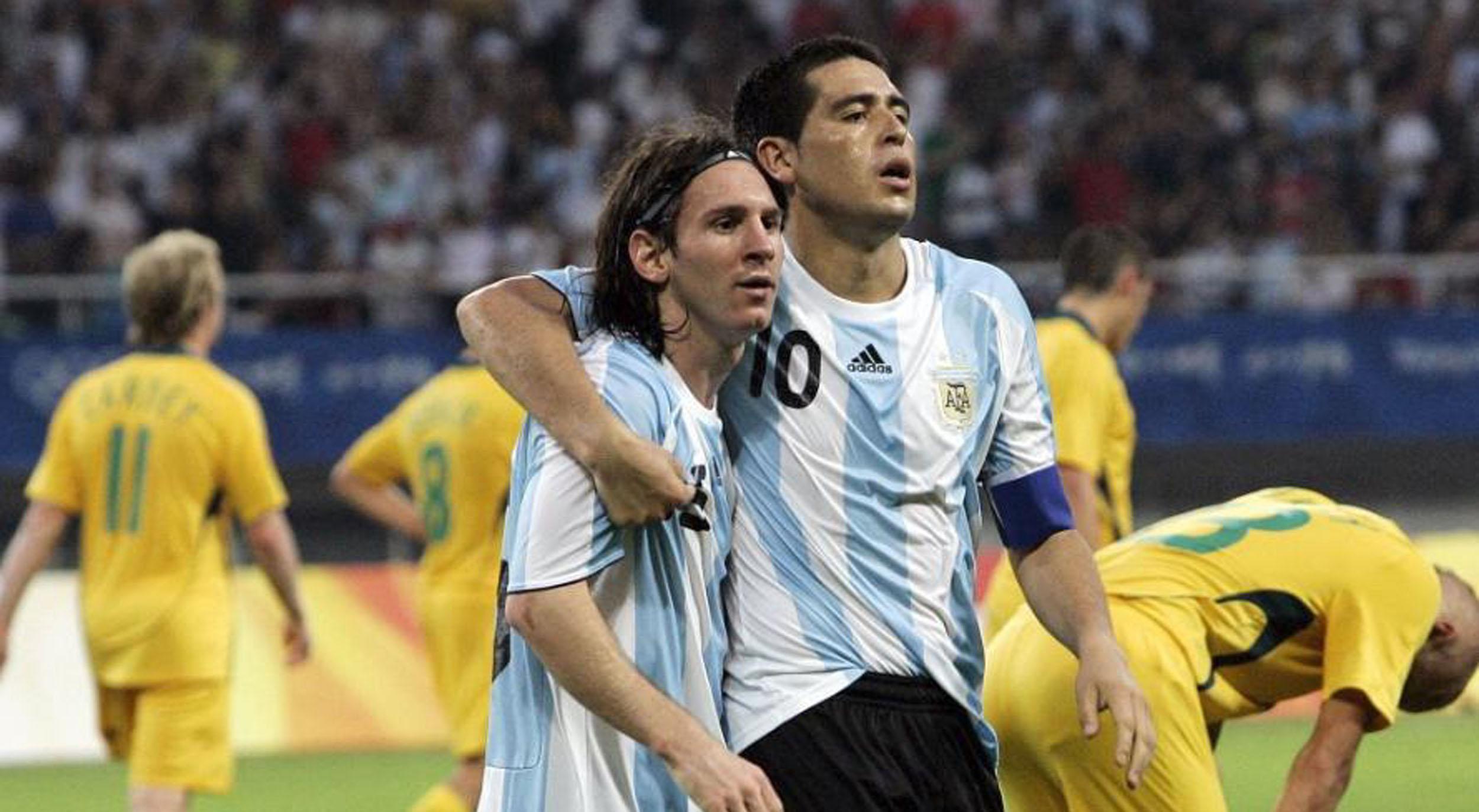 El pedido de Messi a Riquelme para su partido despedida de Boca