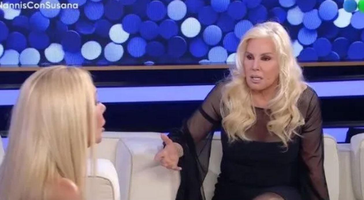Susana Giménez le respondió a Claudio Caniggia luego de que la llamara patética
