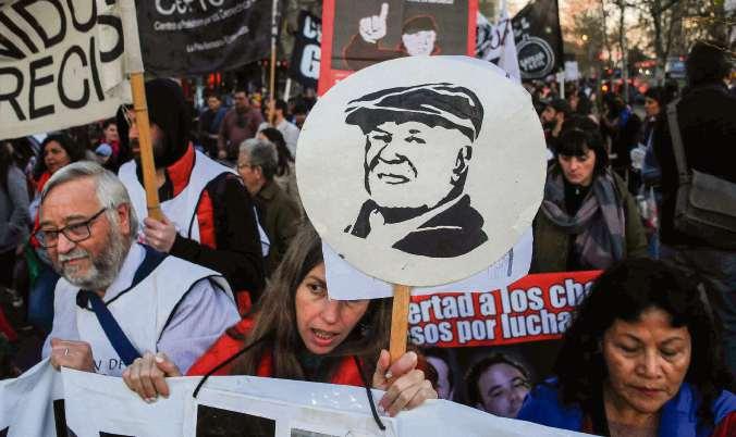 Marcha por la desaparición de López