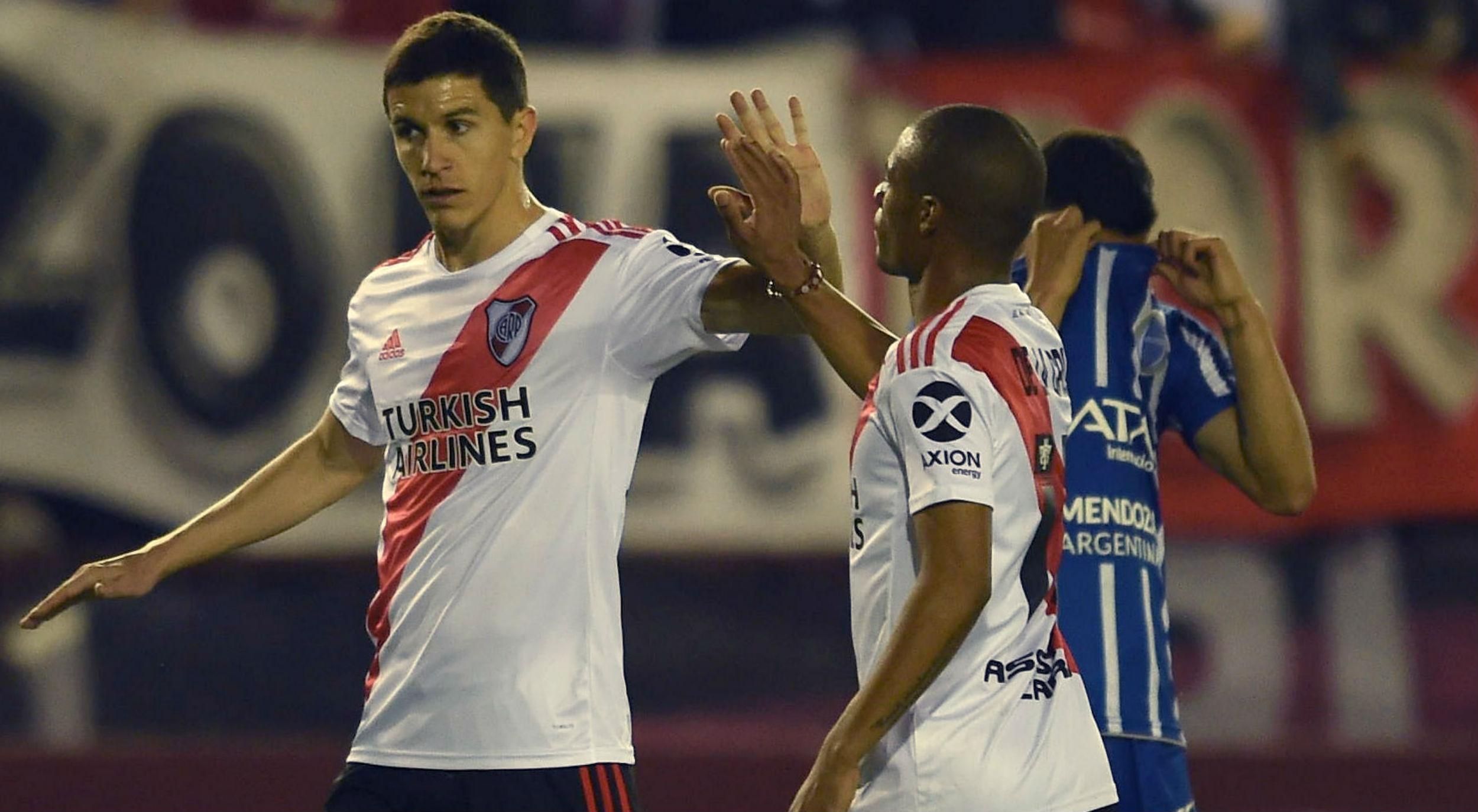 River le ganó 1 a 0 a Godoy Cruz y está en cuartos de la Copa Argentina