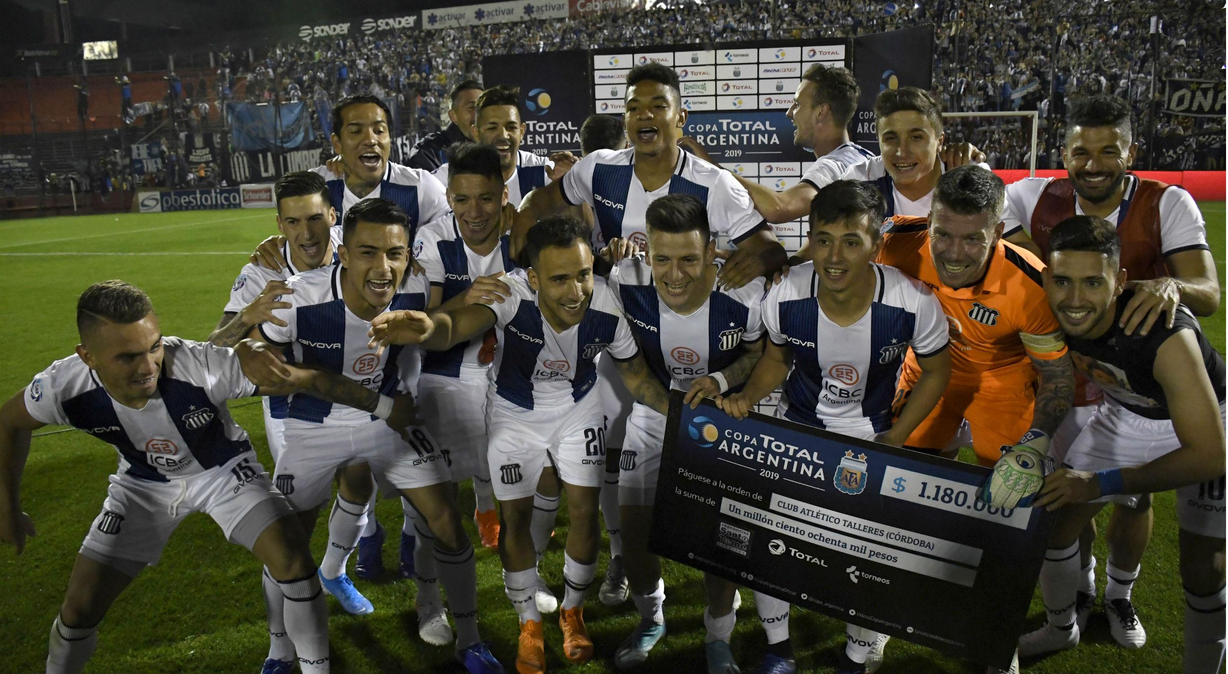 Cuánto dinero ganó Talleres por avanzar a octavos de Copa Argentina
