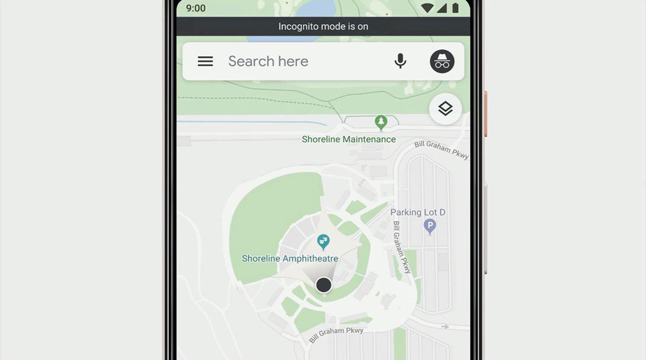 Google Maps ya prueba el modo incógnito que esconde las búsquedas y las ubicaciones