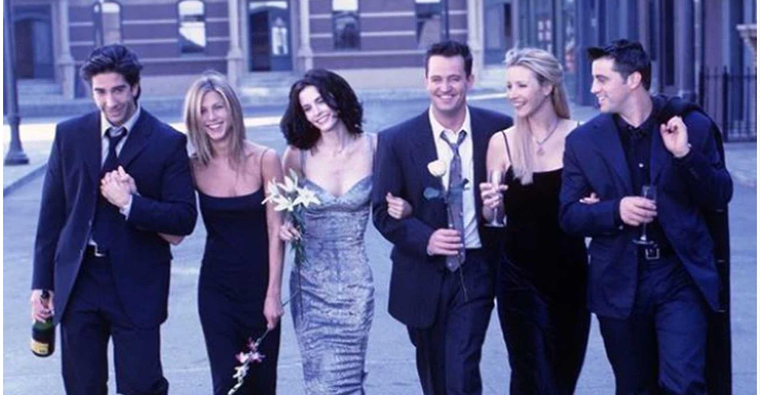 """Sin Rachel ni Chandler, los actores de """"Friends"""" celebraron los 25 años de la serie"""