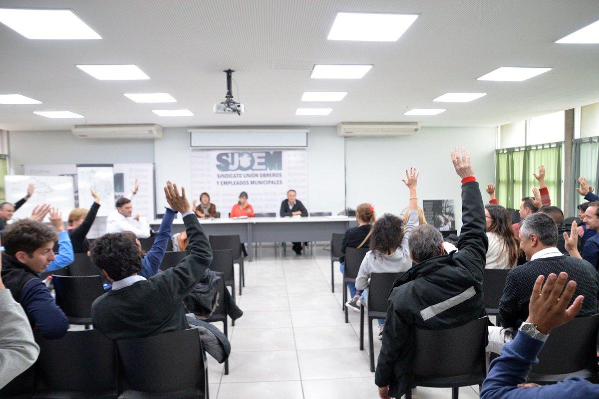 Reclamo del Suoem por la renovación de 750 contratos