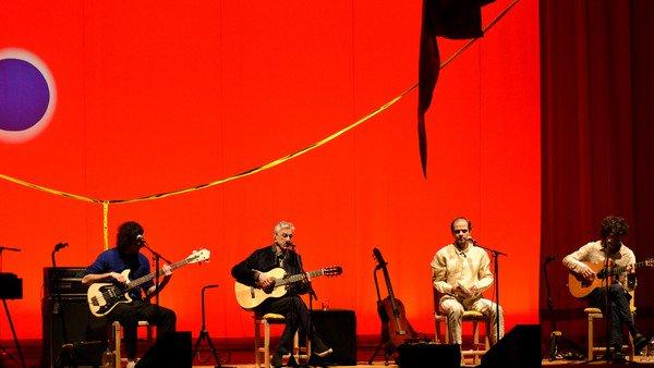 Caetano, Moreno, Zeca y Tom Veloso en el Gran Rex: belleza pura