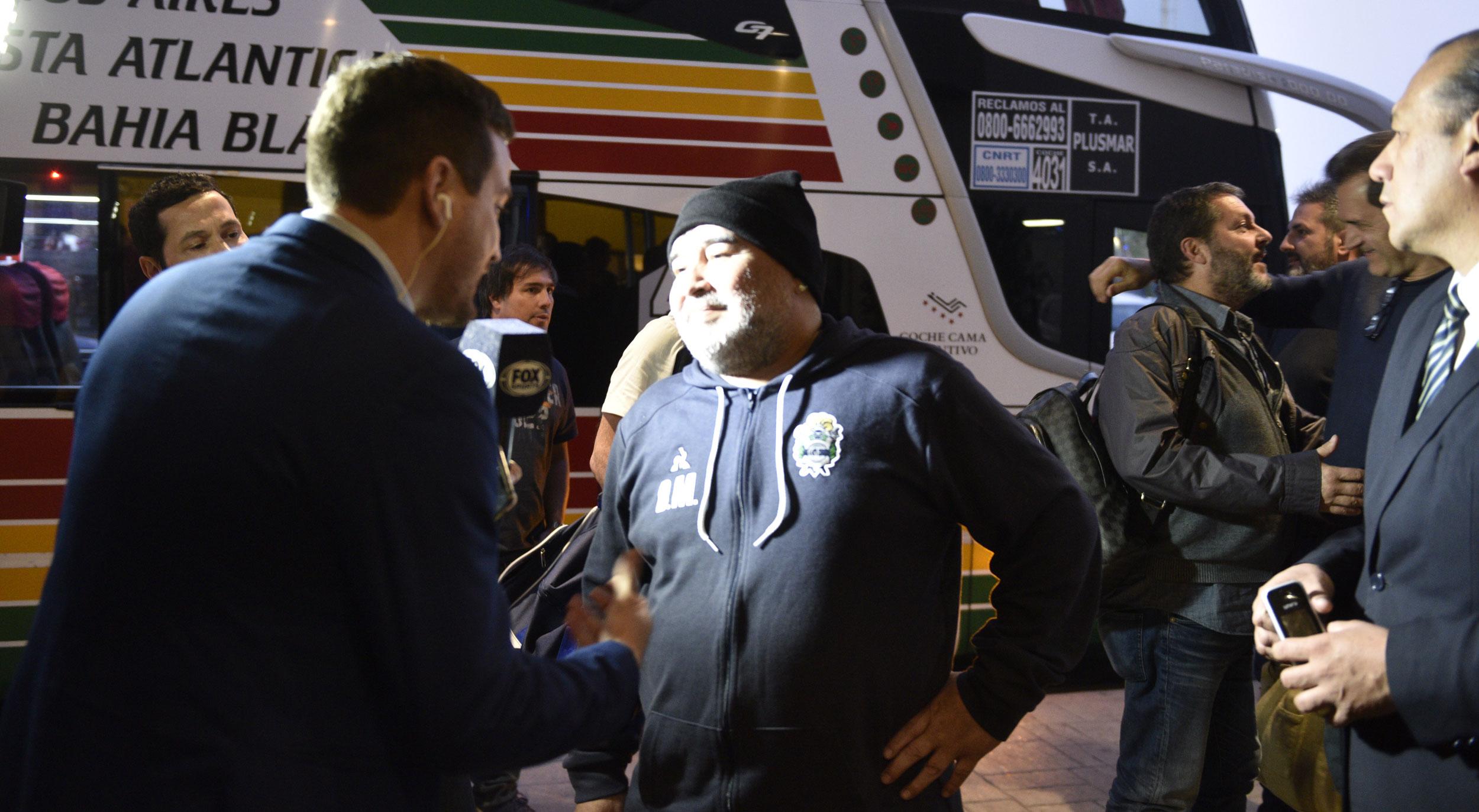 """Maradona recordó cuando jugó para Belgrano y dijo que Talleres """"también es un grande"""""""