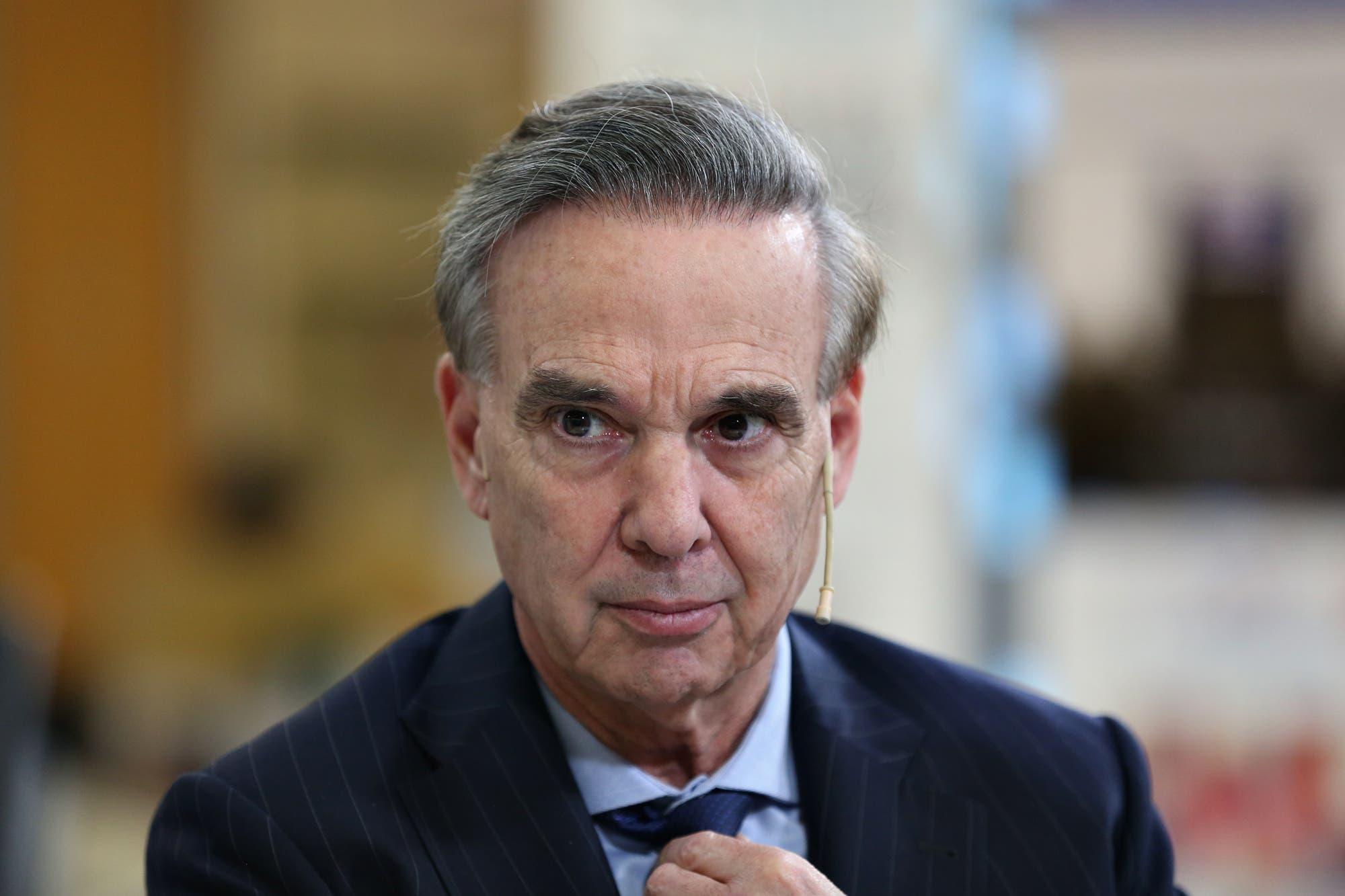 Miguel Ángel Pichetto planteó diferencias con el tono y la estrategia electoral