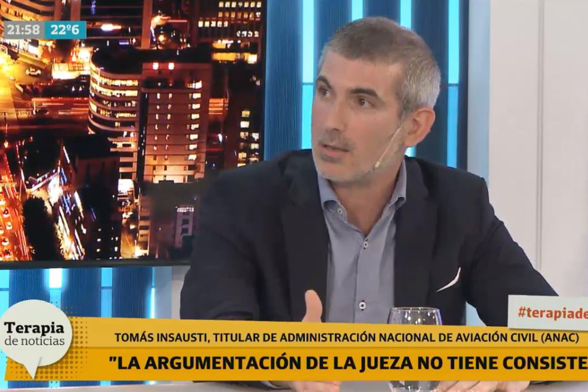 Tomas Insausti, de la ANAC, advirtió sobre la situación de El Palomar ante un posible triunfo de Fernández