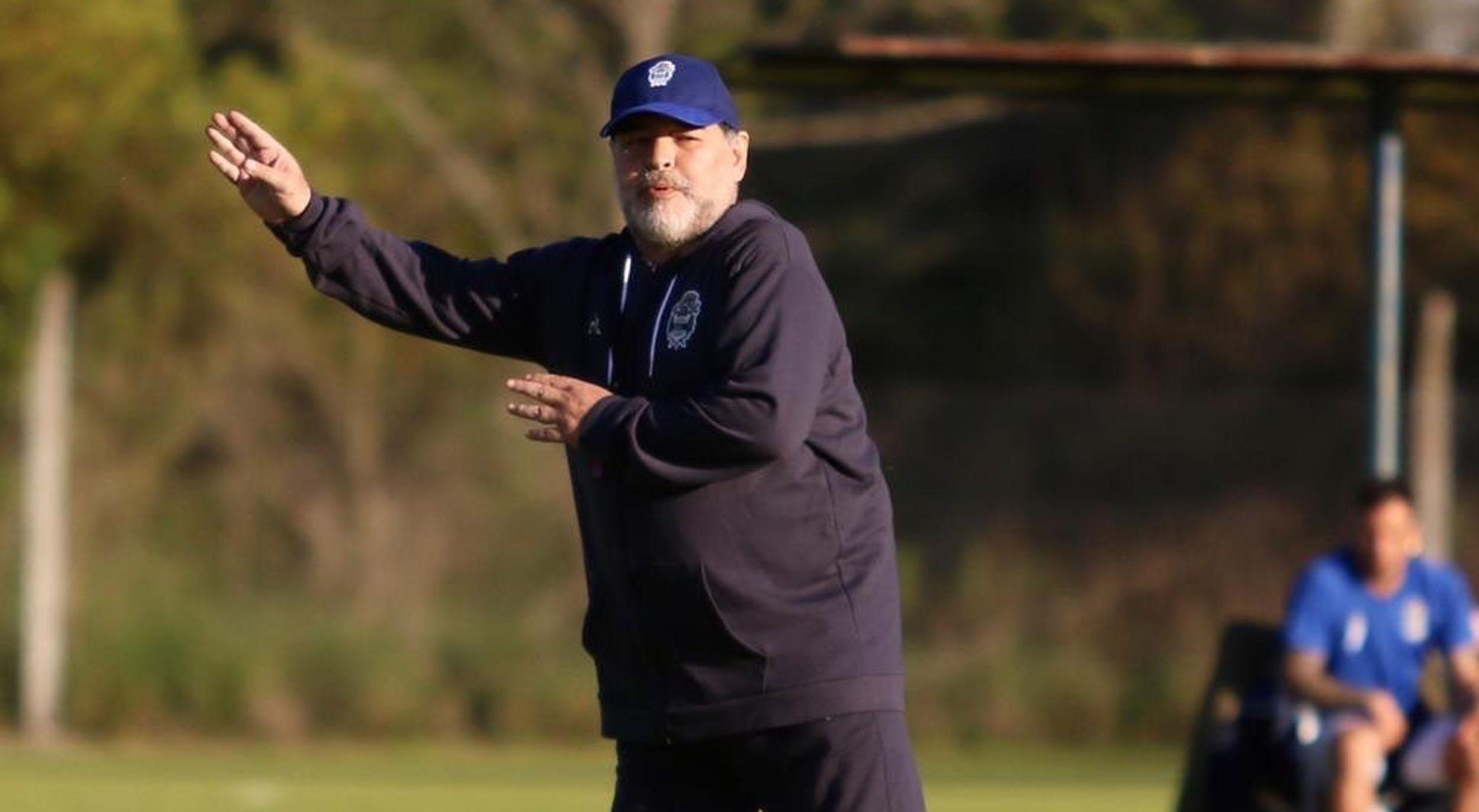 Una buena para Maradona: River pondrá un equipo plagado de suplentes contra Gimnasia
