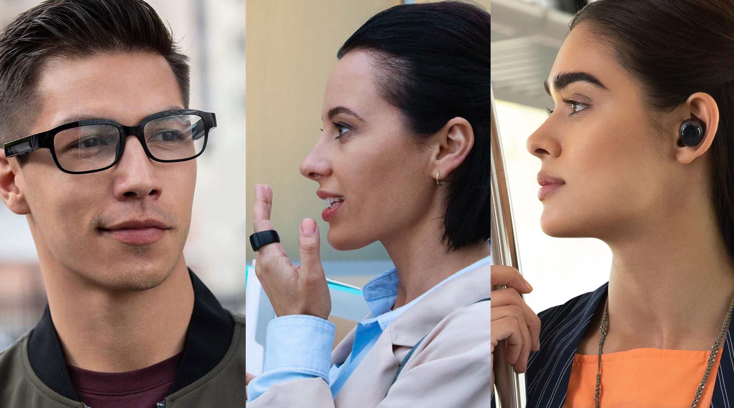 Todo smart: Amazon lanzó un anillo, unos anteojos y unos auriculares con el asistente de voz Alexa