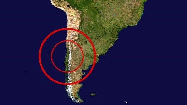 Un sismo en Chile se sintió con fuerza en Mendoza