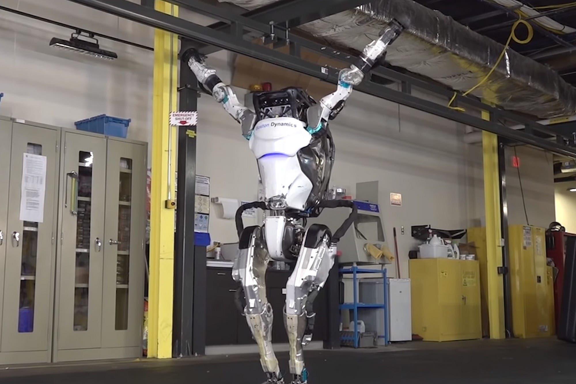Un robot gimnasta: el humanoide Atlas de Boston Dynamics ahora hace ejercicios