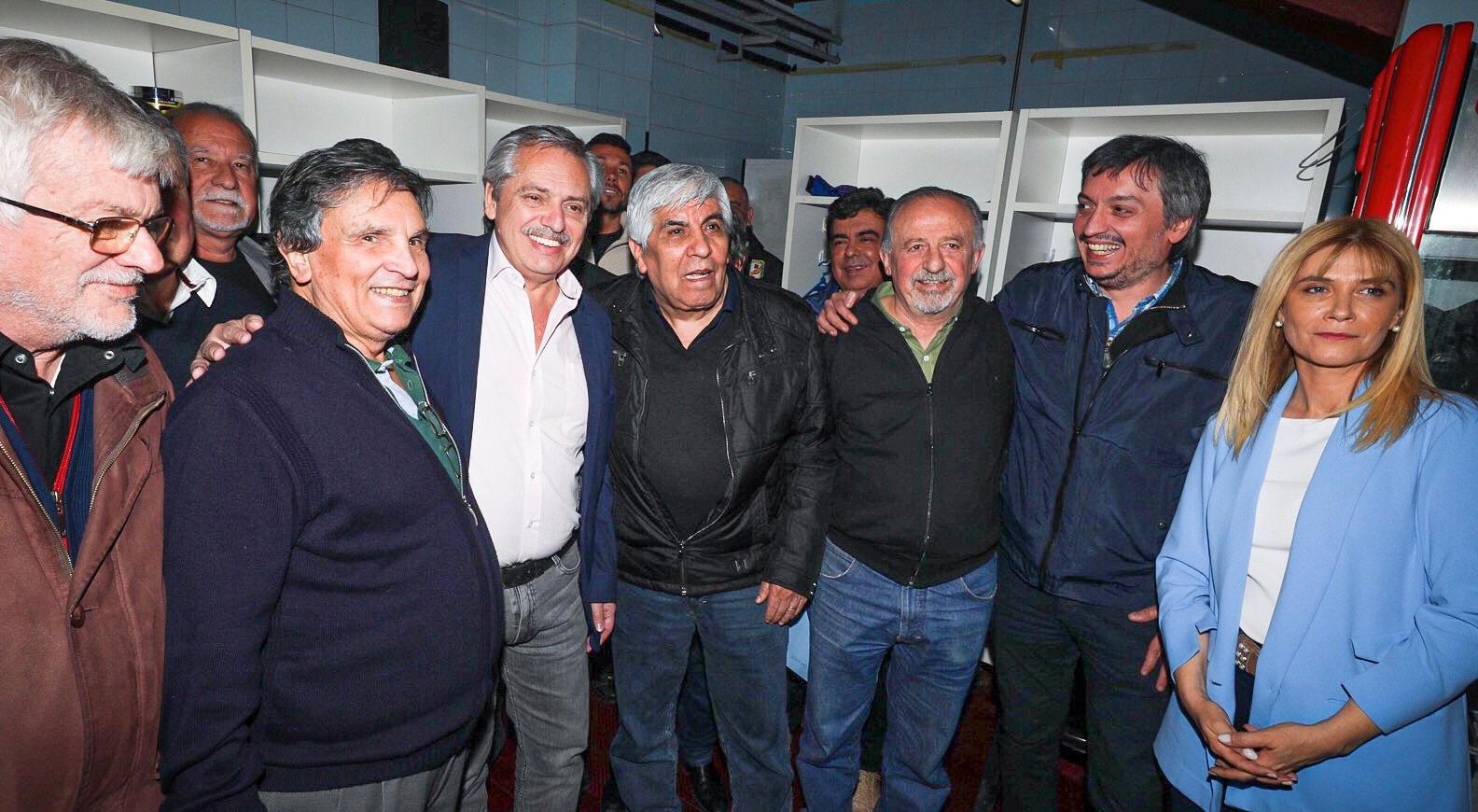 El pacto social, eje del encuentro entre la CGT y Alberto Fernández