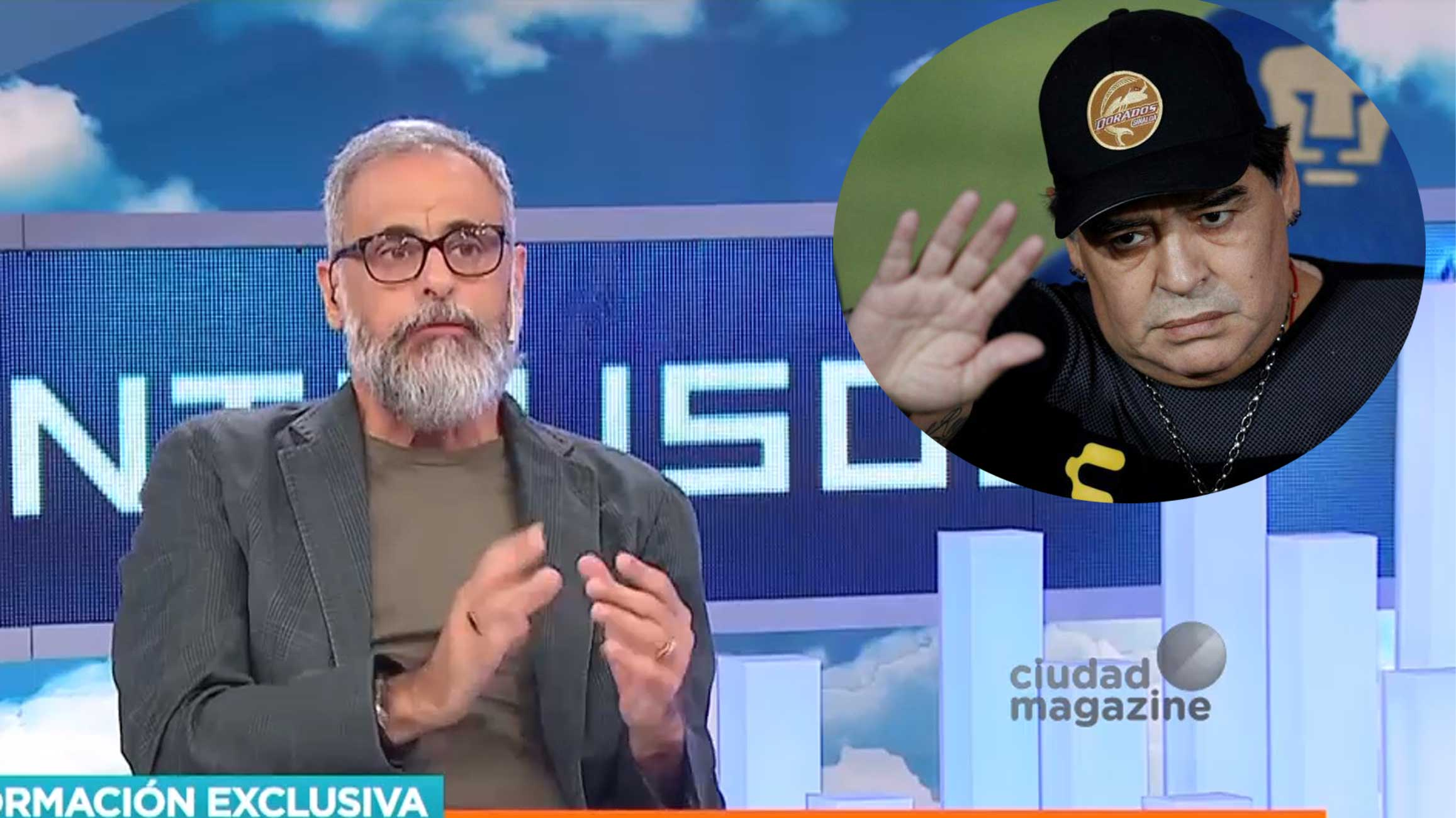 Dramático relato: según Jorge Rial, Gianinna Maradona le salvó la vida a Diego días atrás