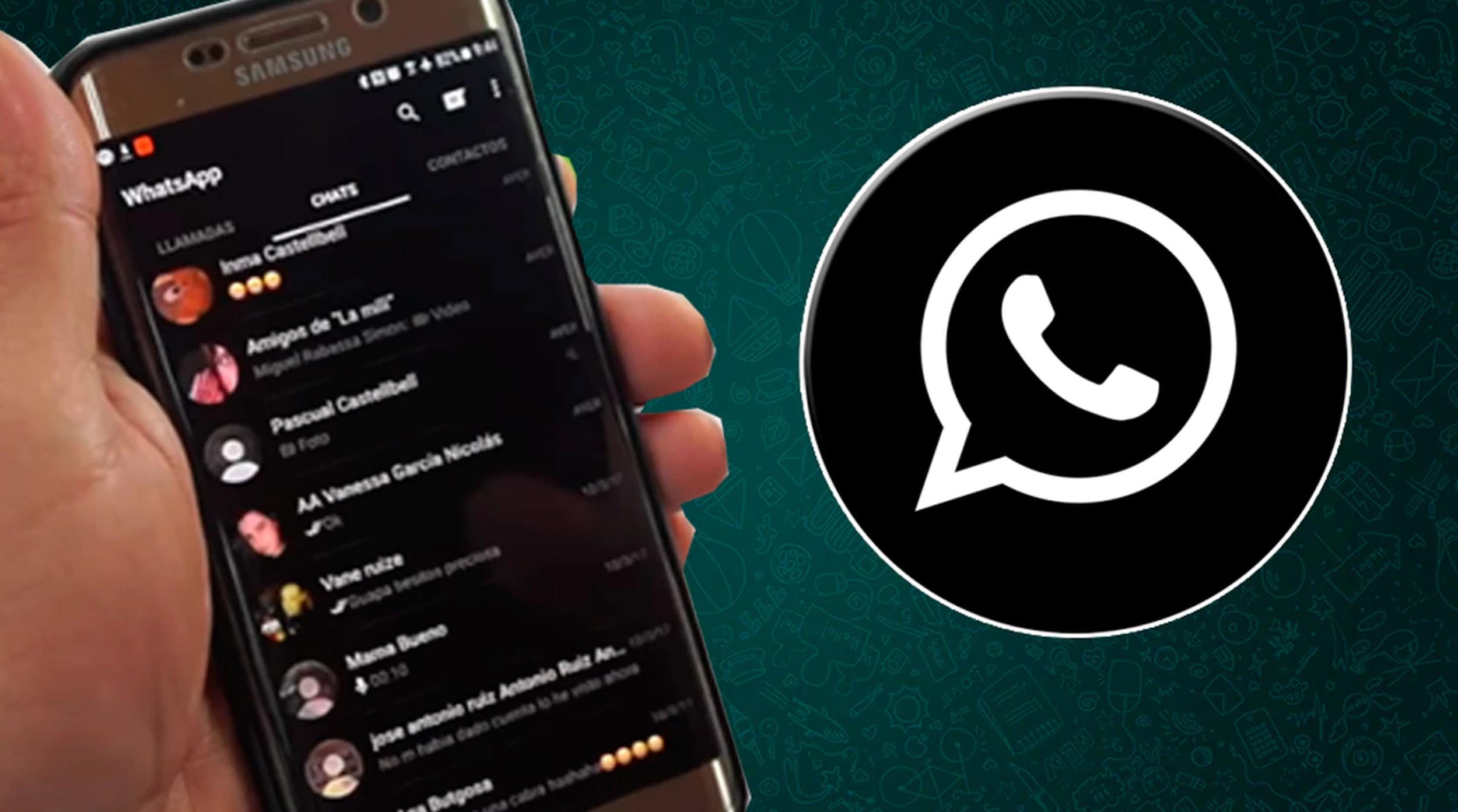 """WhatsApp: hay más detalles de cómo será el """"modo oscuro"""" de la app"""