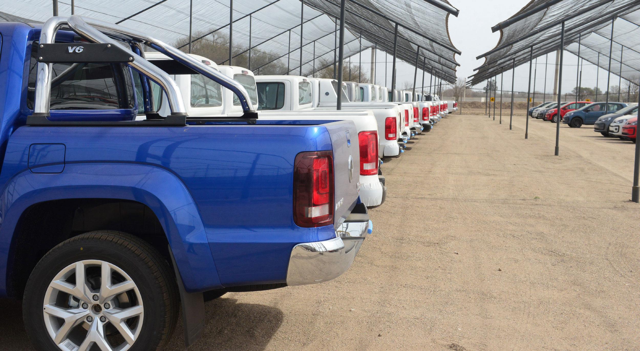 Subastan más de 300 vehículos Volkswagen, entre usados y 0 km