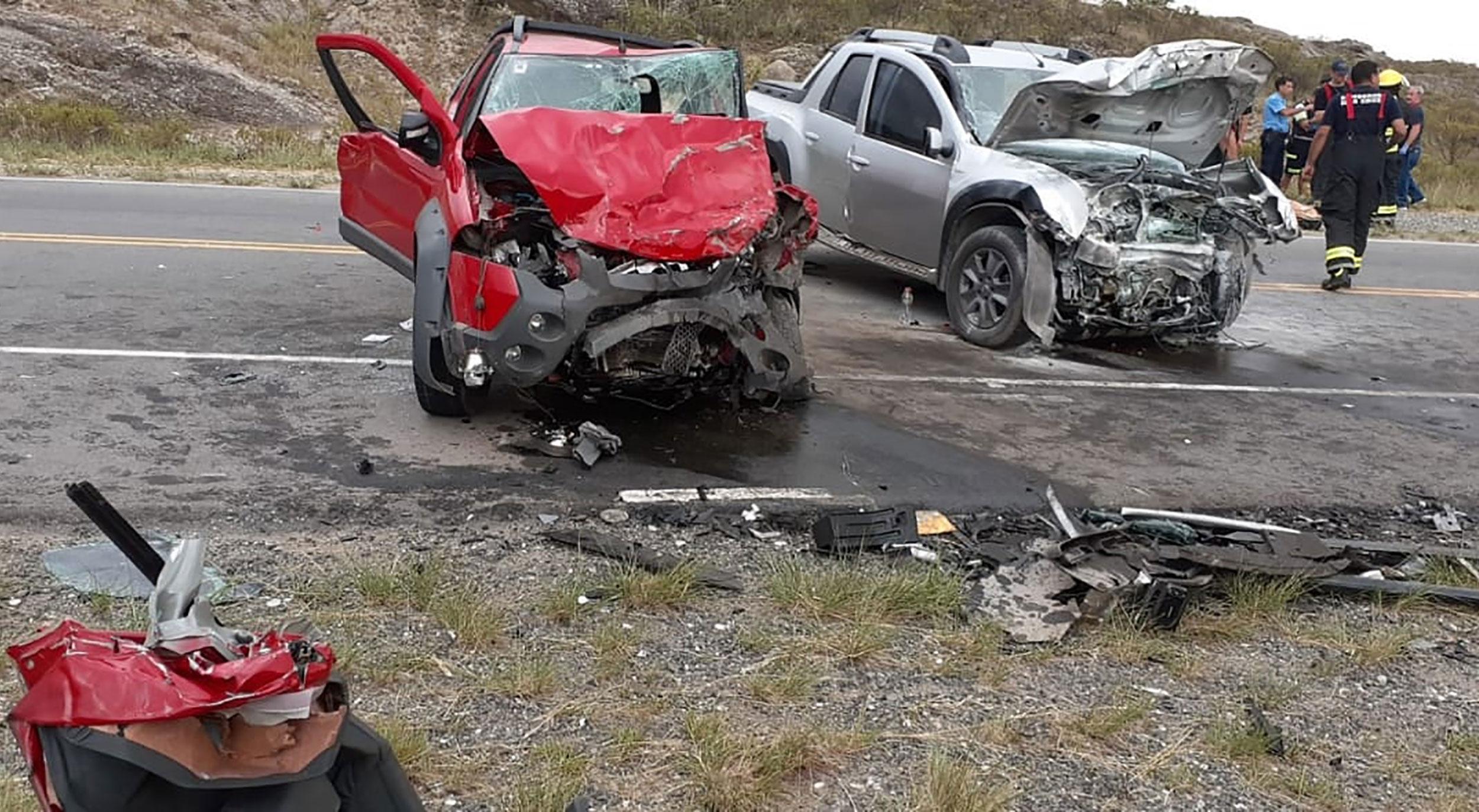 Una mujer murió en un choque frontal en las Altas Cumbres