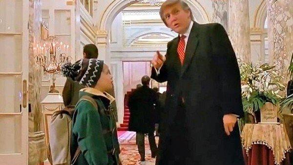 """Donald Trump habló sobre su papel en """"Mi pobre angelito 2"""""""