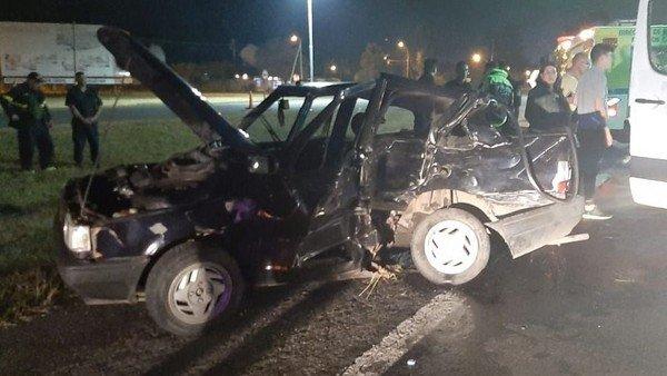 Otro accidente en la Autovía 2 dejó dos heridos