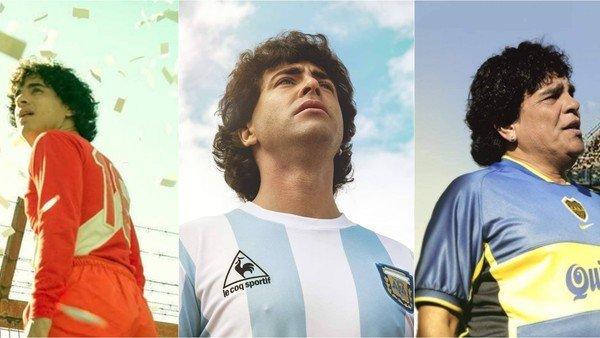 ¿En qué estado está la serie sobre Diego Maradona en Amazon Prime Video?