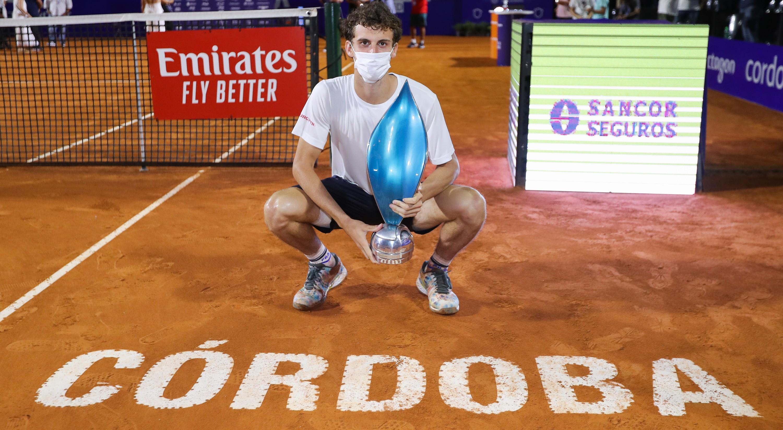 Córdoba Open: Cerúndolo, el chico de la grandeza, venció a Ramos Viñolas y es campeón
