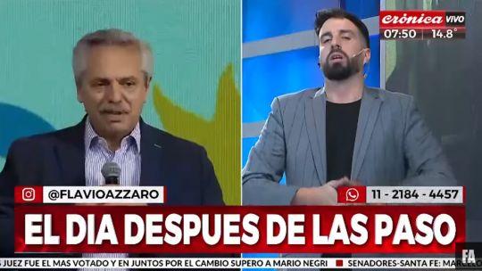 """azzaro-cargo-contra-el-gobierno-de-alberto-fernandez-por-el-lenguaje-inclusivo:-""""aflojen-con-esa-boludez"""""""