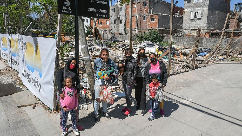 las-mujeres-desalojadas-en-el-barrio-31-exigen-una-solucion-habitacional-y-contencion